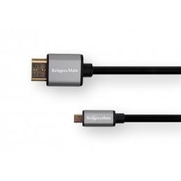 Kabel HDMI-microHDMI 1.8m...