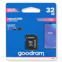 GOODRAM microSDHC 32GB...