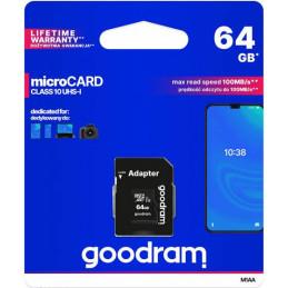 GOODRAM microSDXC 64GB +...