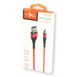 Kabel Spider micro USB 1.5...