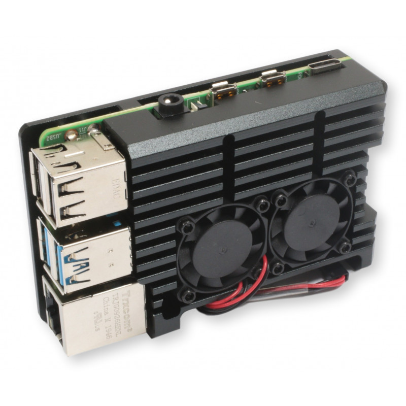 Rpi4 obudowa aluminiowa RAD1 act-cooling