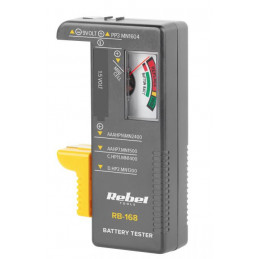 Tester baterii REBEL RB-168