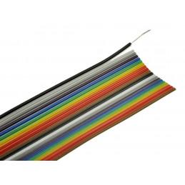 Przewód taśmowy kolor 20x0,09mm2