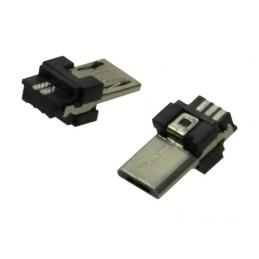 Wtyk microUSB B USB 2.0 na przewód