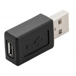 Adapter wtyk USB - gniazdo microUSB