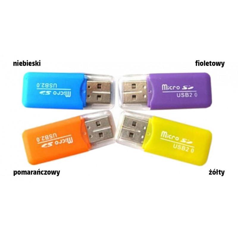 Czytnik kart microSD USB 2.0