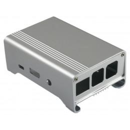 Obudowa do Raspberry Pi aluminiowa srebrna