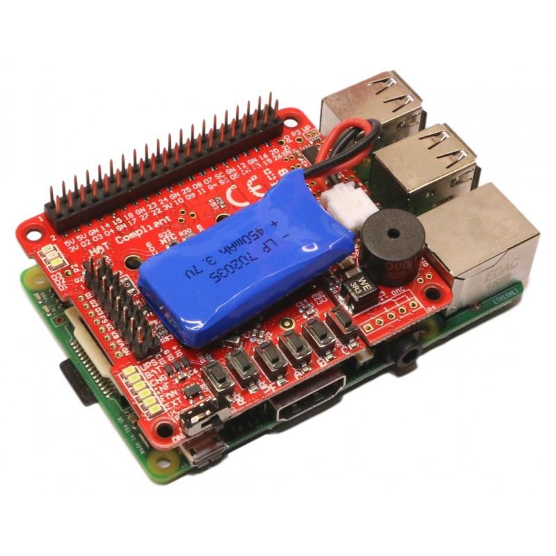 UPS PIco PLUS- dedykowany UPS dla Raspberry Pi A+/B+ oraz Raspberry 2 B / 3 B