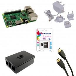 Oryginalny zestaw Raspberry Pi 3 B - KOMPLETNY