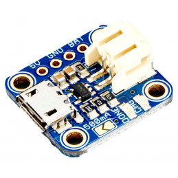Adafruit ładowarka MicroUSB akumulatorów LiIon/LiPol