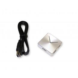 Hub USB 3.0 kwadratowy silver