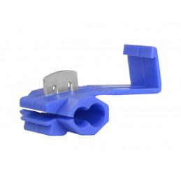 Szybkozłącze sam. zaciskane 1.5-2.5mm niebieskie