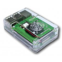 Zestaw Raspberry Pi3B+ , oryginał PoE HAT, obudowa