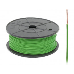 Przewód FLRY-A 0.22 zielony...