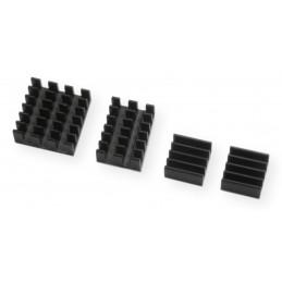 RPi4 radiatory 4-cz.czarne