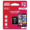 GOODRAM microSDHC 32GB Class 10 +Adapter