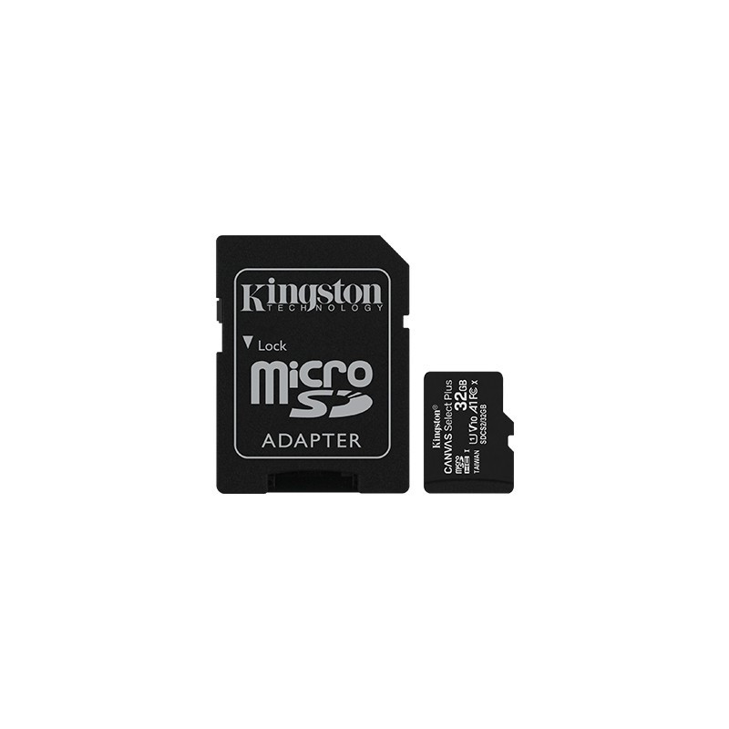 KINGSTON microSD 32GB Canvas Select Plus 100MB/s Adapter