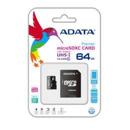 Adata microSDHC 64GB Premier