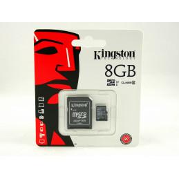 Kingston microSDHC 8GB...