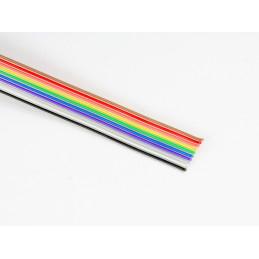 Przewód taśmowy kolor 10x0.127