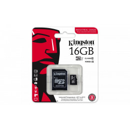 KINGSTON microSD 16GB CL10...