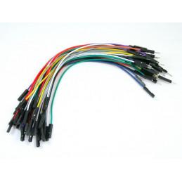 """Kable połączeniowe PREMIUM M-F 6"""" 50szt."""
