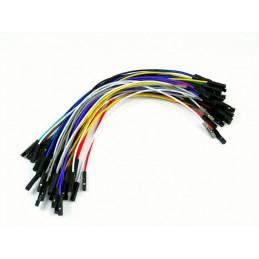 """Kable połączeniowe PREMIUM F-F 6"""" 50szt."""